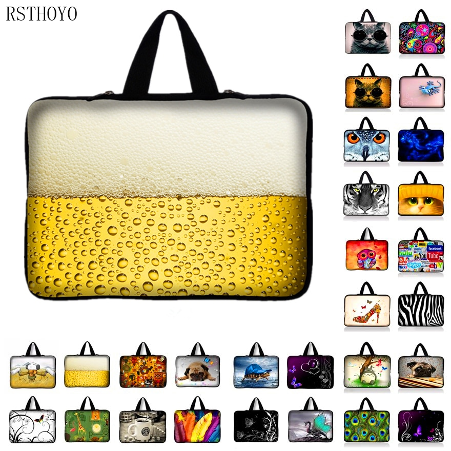9.7 10.1 11.6 12 13 13.3 netbook laptop sleeve bag case 14 14.4 15 15.6 17 17.3 inch Computer cover