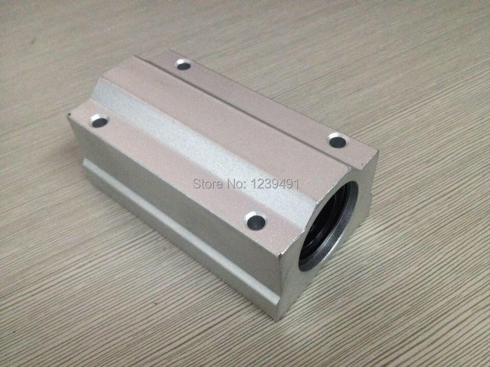 2 قطعة/الوحدة SCS20LUU SC20LUU دليل خطي جلبة ، الكرة خطي تحمل ل 20 مللي متر رمح CNC أجزاء