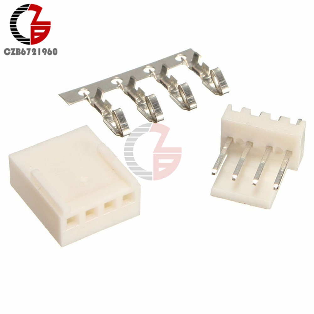 20PCS 4Pin KF2510-4P KF2510 4P 2,54mm Pitch Terminal Gehäuse Header Anschlüsse Adapter DIY Kits
