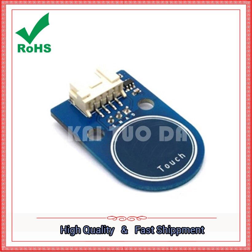 Módulo de interruptor táctil sensor táctil doble panel táctil 4 p/3 p tablero de interfaz