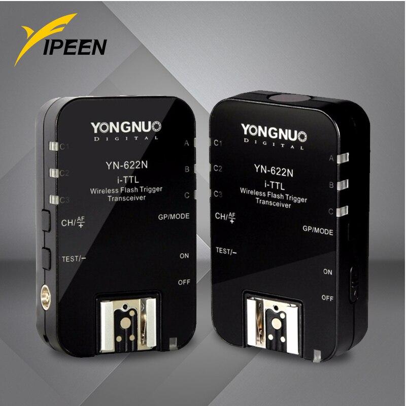 Yongnuo YN-622N 1/8000s TTL inalámbrico controlador Flash disparador de Flash Kit para Nikon Flash Camera_DHL