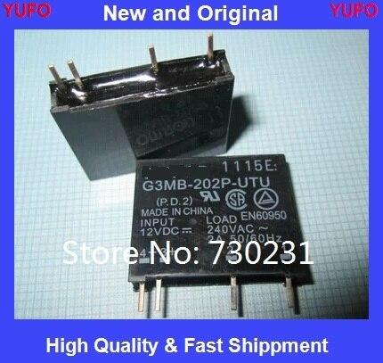 Envío GRATIS un lote de 10 piezas G3MB-202P DC-AC PCB SSR en 5VDC... relé de estado sólido 240 V AC 2A Original