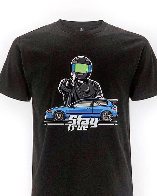 Jdm Civic Eg6 Racing Camiseta tipo R Ek B16 B18 K20 2019 nueva marca de moda Tops hombre Camiseta hombres diseño camiseta