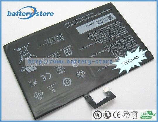 Batería original L14D2P31 para LENOVO Tab 2 A10-30, Tab 2 A10-30F, Tab 2 A10-30L, para Lenovo TB2-X30F, TB2-X30, TB2-X30M, 26,60 W