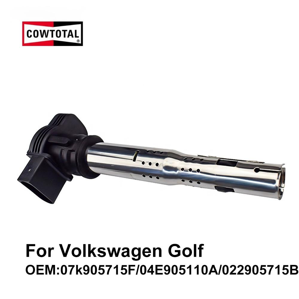 Bobina de ignición COWTOTAL para Volkswagen Golf 2,0 T 1,4 T 3.2L OEM 07k90571 5F/022905715B/04E905110A (paquete de 4)