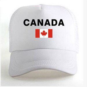 CANADA men youth boy diy free custom made name number country nation flag ca print photo logo college french unisex baseball cap