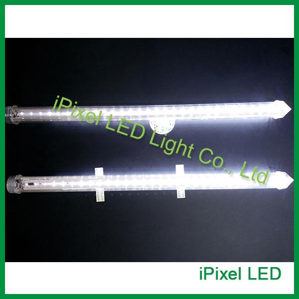 0.5 m 3.6w led transparente tubo smd2835 led meteoro chuveiro chuva luzes do tubo