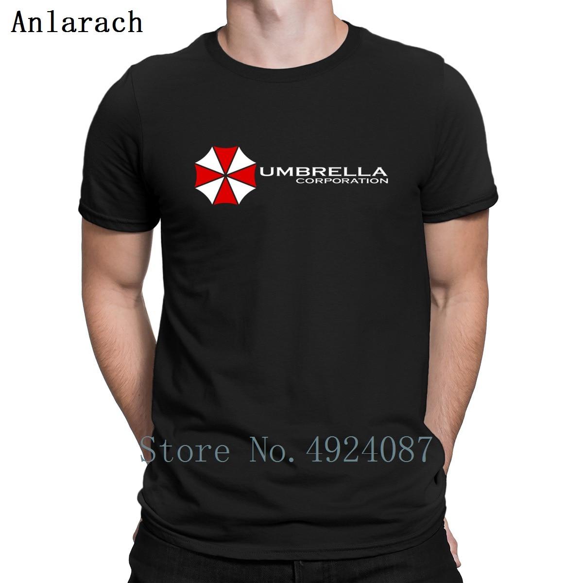 Umbrella Corp Jersey camiseta camisas de hip hop criatura humorística estilo de verano impreso Camiseta clásica gran oferta de imágenes de manga corta