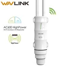 Wavlink AC600 30dbm haute puissance extérieure résistant aux intempéries sans fil Wifi routeur/AP répéteur double bande 5G/2.4G antenne détachable externe
