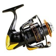 Moulinet de pêche 13BB AD2000 7000 8000 9000 gros poisson bobine de métal carpe bateau moulinet de pêche glisser la roue
