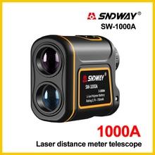 SNDWAY Golf télémètre Slaser distance mètre chasse caméra vitesse mètre télescope SW-1000A SW-1500A