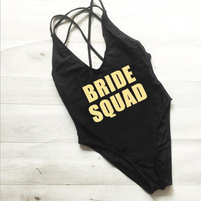 Letras de Sexy novia una sola pieza traje de baño mujeres ropa de playa trajes de baño traje alto rojo negro de fiesta de boda