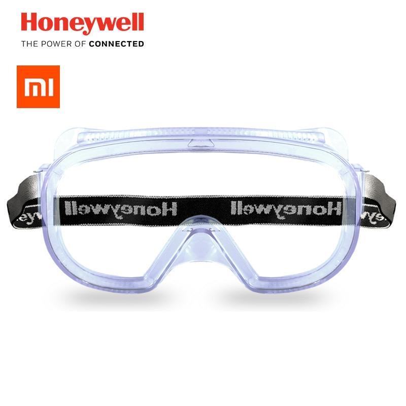 2018 nuevo xiaomi Mijia Honeywell Anti-niebla antiarena a prueba de viento Anti polvo vidrio de trabajo transparente para xiaomi smart Kit de casa
