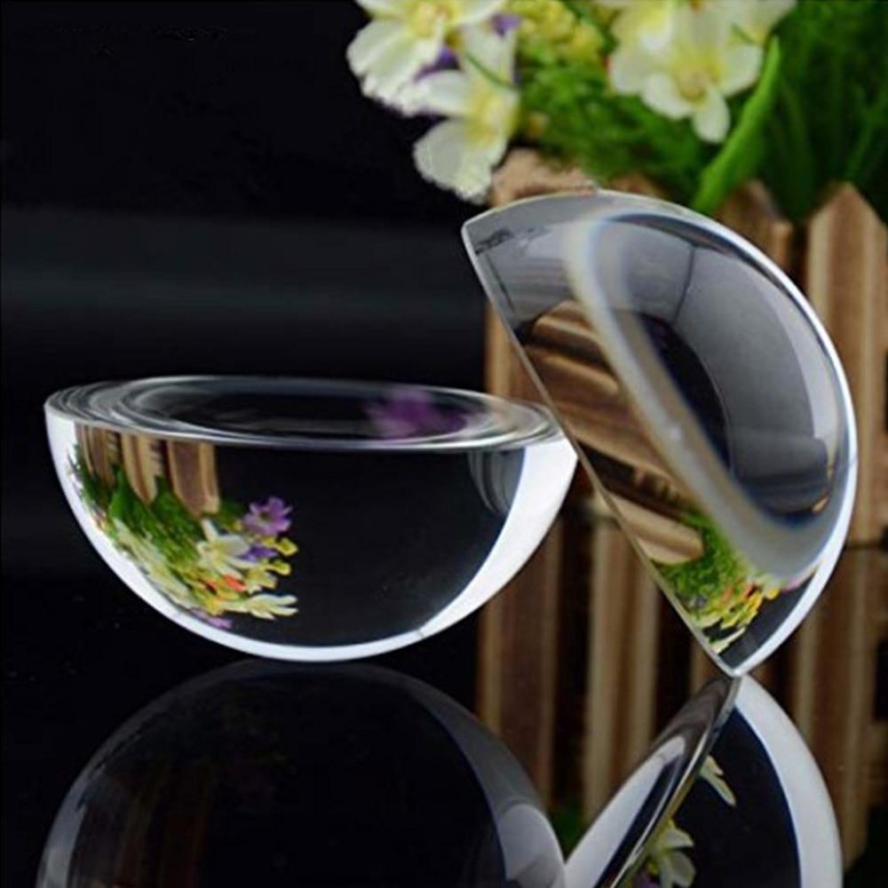 Nuevos lupas de media Esfera de papel hbl de 120mm/150mm, bola de cristal transparente para decoración del hogar, regalos