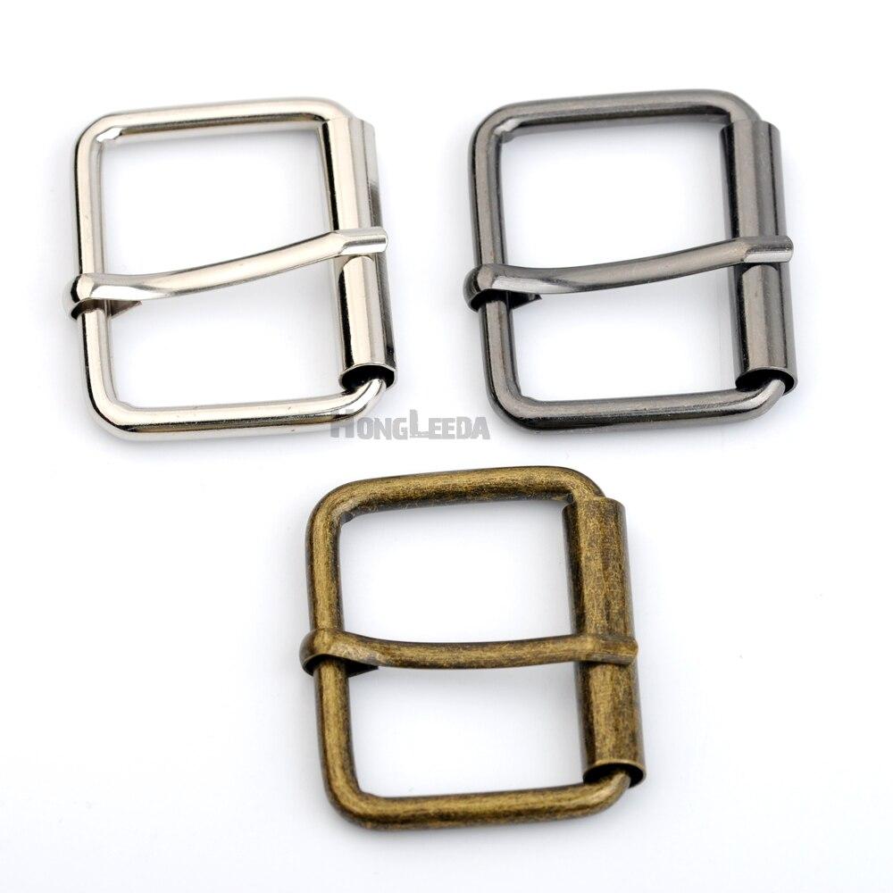 15 unids/lote 40mm 1,5 pulgadas grande de metal de hierro hebilla móvil tubo mochila de hebilla de cinturón de plata negro de bronce envío gratuito BK-070