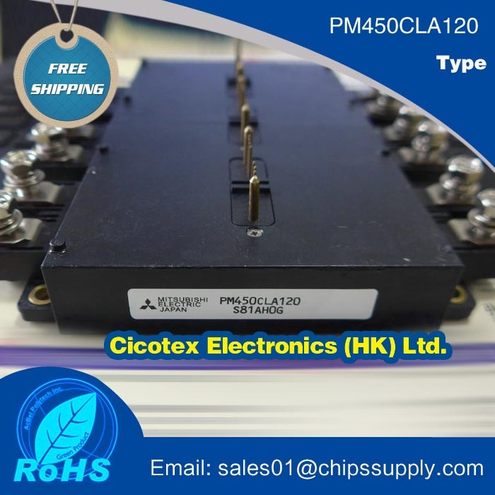PM450CLA120 IGBT módulo de potencia MOD IPM L-SER 6PAC 1200V 450A
