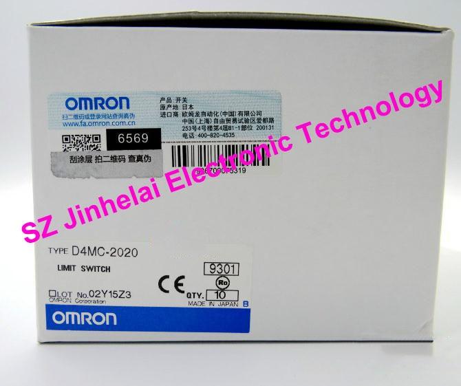 D4MC-2020, D4MC-5000 interruptor de límite OMRON nuevo y original, microinterruptor