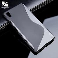 taoyunxi sline soft tpu silicon phone cases for sony xperia z5 e6603 e6633 5 2inch e6653 e6683 covers phone accessories skin