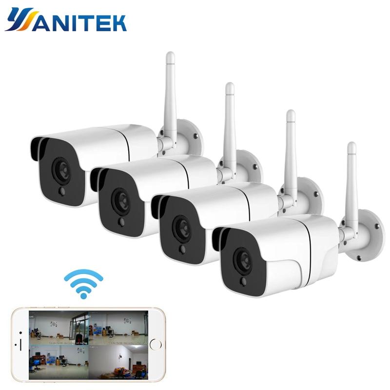 Inalámbrico sistema de cámaras de seguridad 1080P Cámara cámara IP Wifi tarjeta...