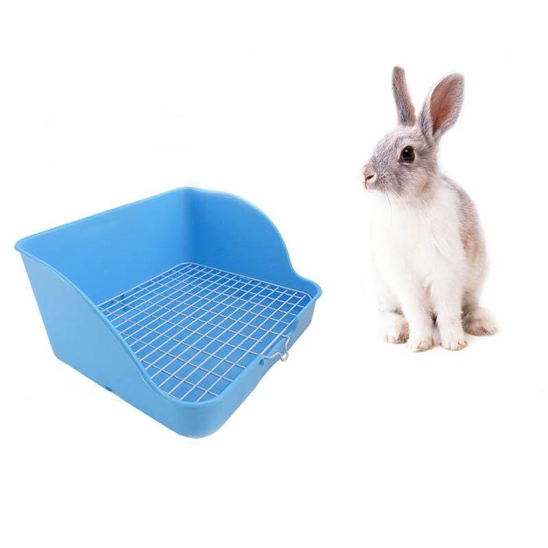 Conejo de plástico SHGO-Pet con diseño de hebilla de aseo para limpiar conejos, no fácil de holgar