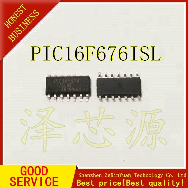 20 pzas/lote PIC16F676-I/SL PIC16F676 SOP14 mejor calidad ic