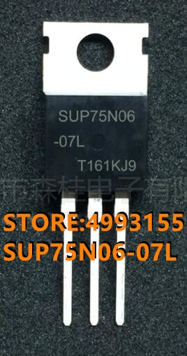 100%, nuevo y Original, SUP75N06-07L en stock