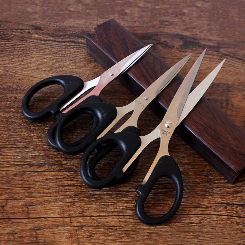 Aço inoxidável durável casa tesoura escritório tesoura de corte de papel tesouras afiadas estudantes diy tesoura ferramenta de cozinha tesoura
