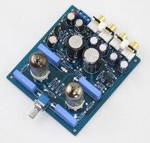 Assemblage 6J1 tube à vide préampli Audio HiFi tampon pré-amplifie carte se référer circuit de X10-D