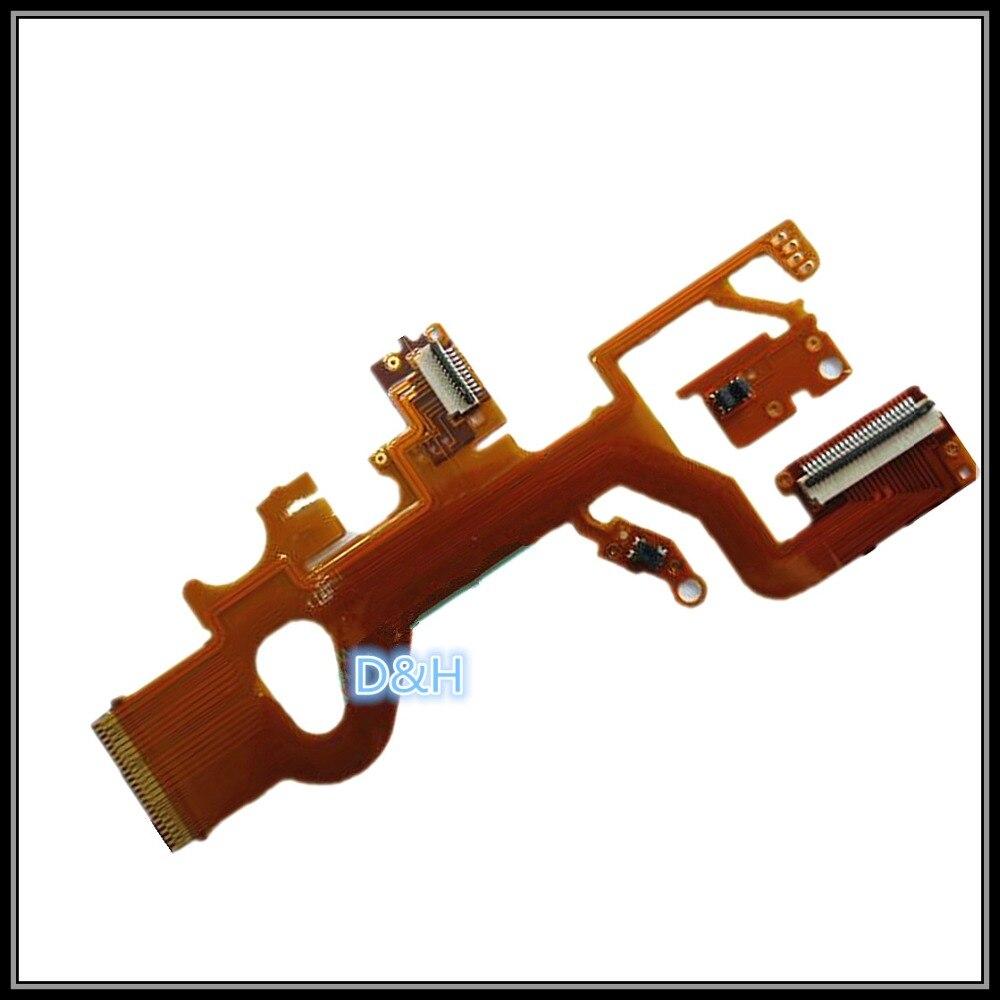 Новый оригинальный гибкий кабель объектива FPC (с датчиком и гнездом) для Panasonic DMC-ZS8 ZS10 TZ18 TZ20 Leica V-Lux30 Запасная часть