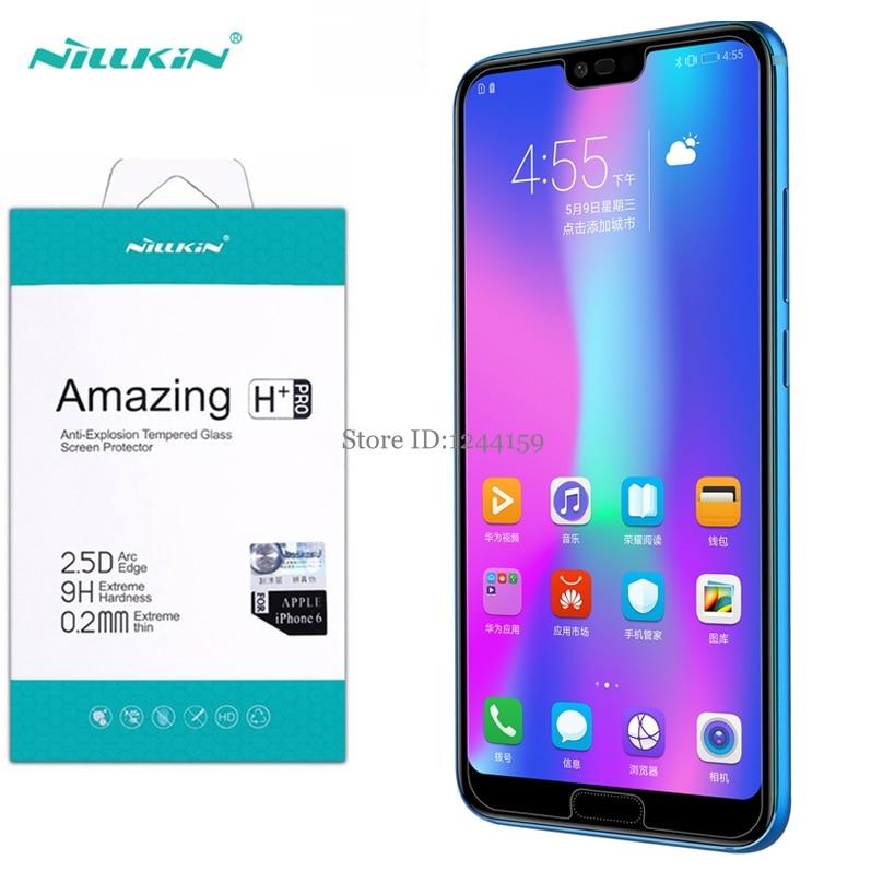 Huawei Honor 10 Vidro Temperado Nillkin Surpreendente H & H Pro + Protetor de Tela para Protetor de Tela Huawei Honor 10 filme