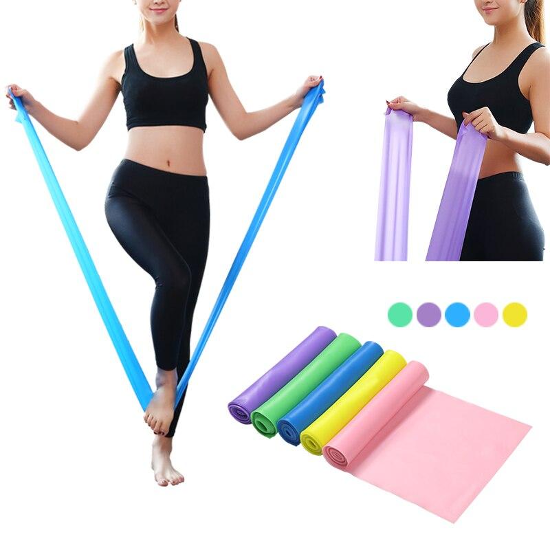 Тренажер 1,5 м для йоги Пилатес резиновый эластичный ремешок для йоги эластичные спортивные ленты для занятий спортом ремень для фитнеса