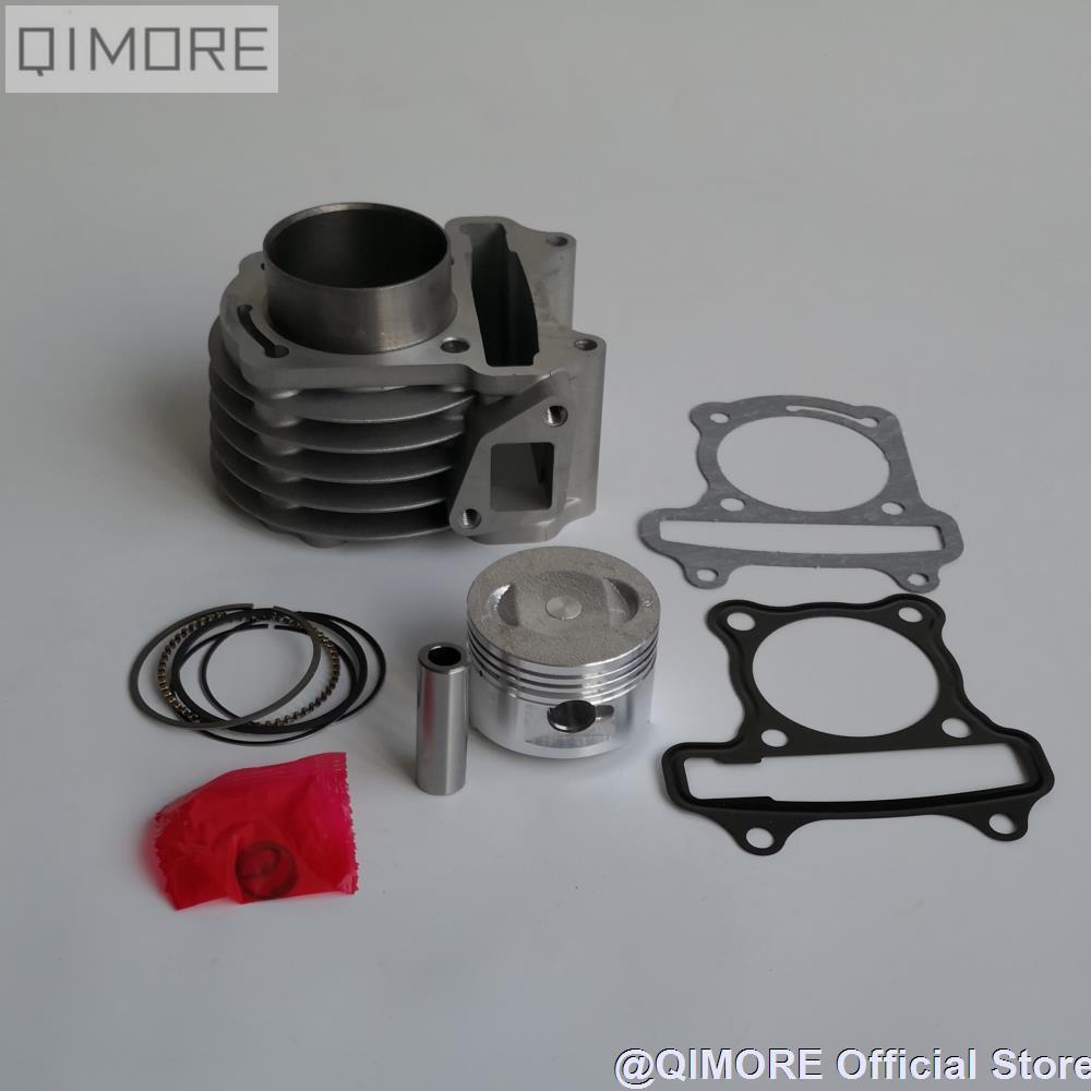 50 мм набор большого отверстия/набор поршневых колец цилиндра для 4-тактного скутера 139QMB 147QMD GY6 50 60 80 см3 обновления (50 мм поршневое дно!)
