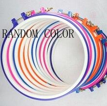 YZ anneau de couture en bambou   Machine à point de croix, cerceau de broderie en plastique, anneau en bois pratique, tricot artisanat bambou 1 pièce 15cm/5.91