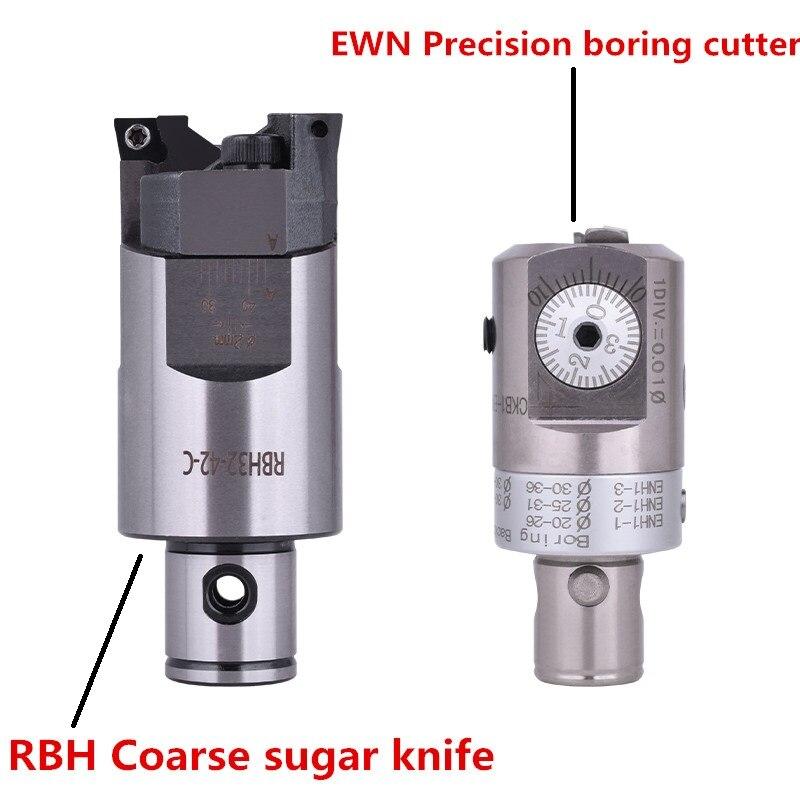 RBH-رأس مثقاب خشن مزدوج بت RBH 52-70 مللي متر CCMT09T304 ، أداة حفر ثقوب عميقة جديدة