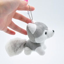 Kawaii Puppy Knuffels 10Cm Leuke Simulatie Husky Hond Pluchen Speelgoed Gevulde Pop Kids Baby Speelgoed Pluche Husky Poppen