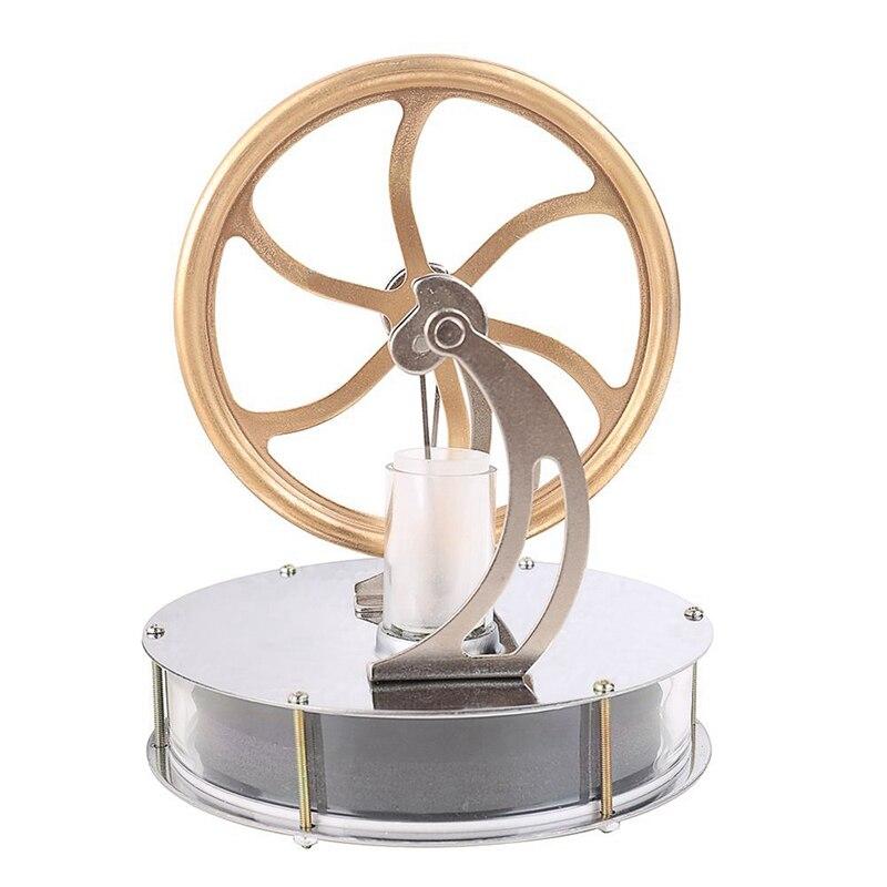 Kit de juguetes Modelo de Educación de vapor de motor Stirling a baja temperatura THGS, se apaga la diferencia de temperatura