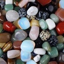 Surtidos Natural cayó piedra de Cristal de Cuarzo Aventurina obsidiana Decoración Artesanías Puntos Perlas Decoración Chakra Healing Reiki