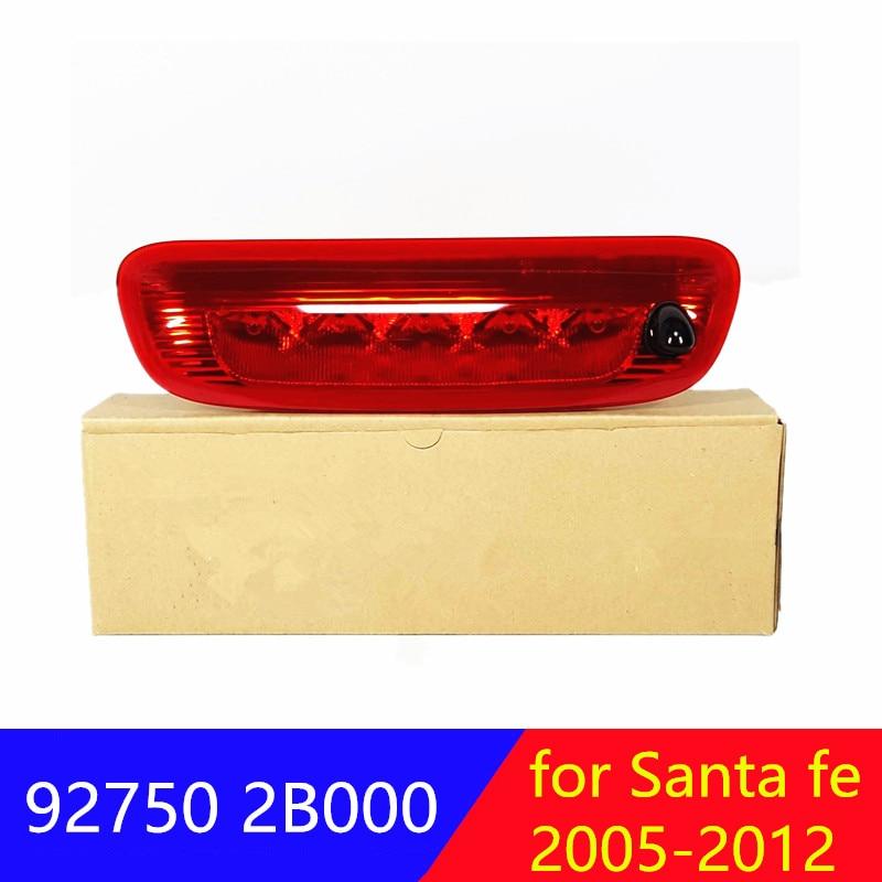 927502B000 para hyundai Santa fe 2005-2012, luz de freno trasera de montaje alto, luces LED de freno alto 92750 2B000