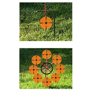 """New Trend 100 PCs 3"""" Target Stickers Self-adhesive Targets Shooting Archery Target  for Outdoor Labels  Shooting Target Practice"""