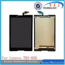 Nouveau Pour Lenovo TB3-850F tb3-850 tb3-850F tb3-850M Tablette Tactile Écran Tactile Numériseur + écran LCD Pièces Dassemblage Livraison Gratuite