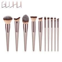 GUJHUI Makeup Brush Sets 1PCS Wooden Foundation Cosmetic Eyebrow Eyeshadow Brush Makeup Brushes Makeup Tools Cosmetic Brush Tool