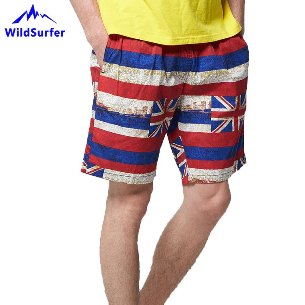 WildSurfer Quick Dry Men Beach Shorts Summer Bermuda Pocket Swimwear Plus Size Swim Trunks Running Sports Surffing Shorts SP70