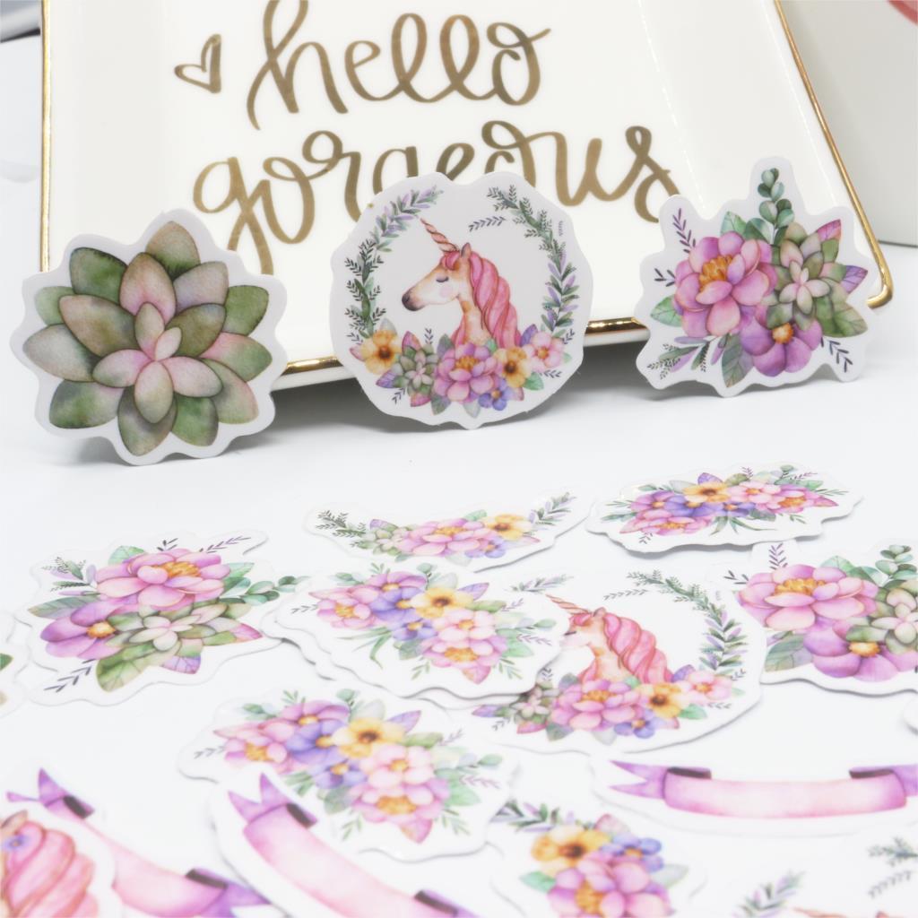 45 unids/pack papelería pegatinas Kawaii Alice café planificador diario móvil decorativo pegatinas Scrapbooking DIY pegatinas artesanales