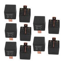 DC 24V Coil 80A 4 Pins SPST Car Automotive Alarm Security Power Relay 10pcs