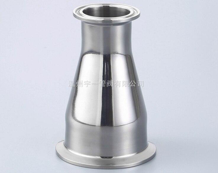 شحن مجاني 3 ''x 2.5'' 304 الصحية ثلاثي المشبك 304 الفولاذ المقاوم للصدأ المخفض
