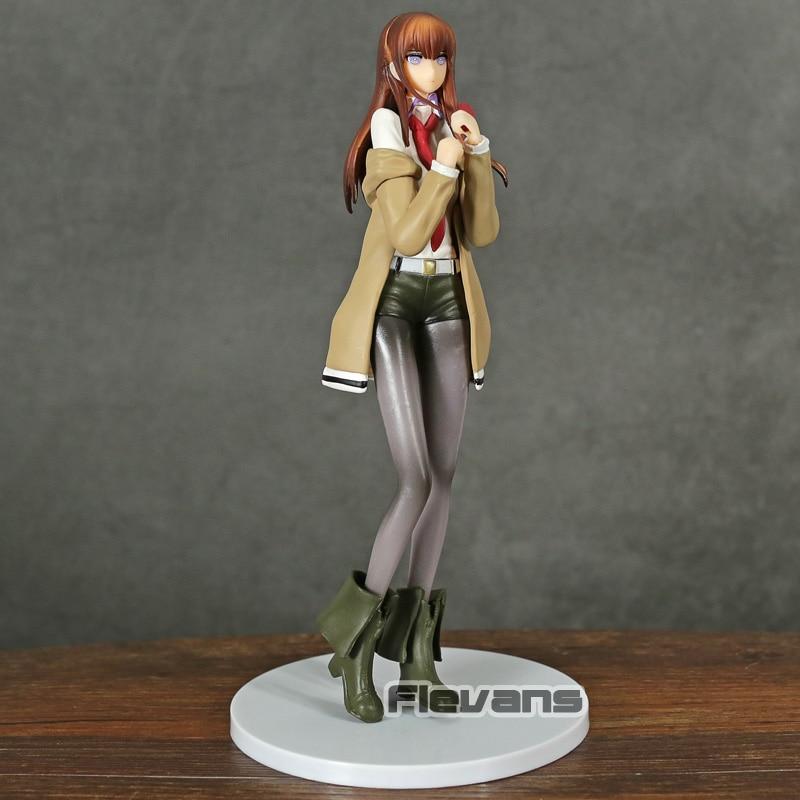 Anime Steins Gate Makise Kurisu 1/7 Escala de PVC figura de juguete de modelos coleccionables
