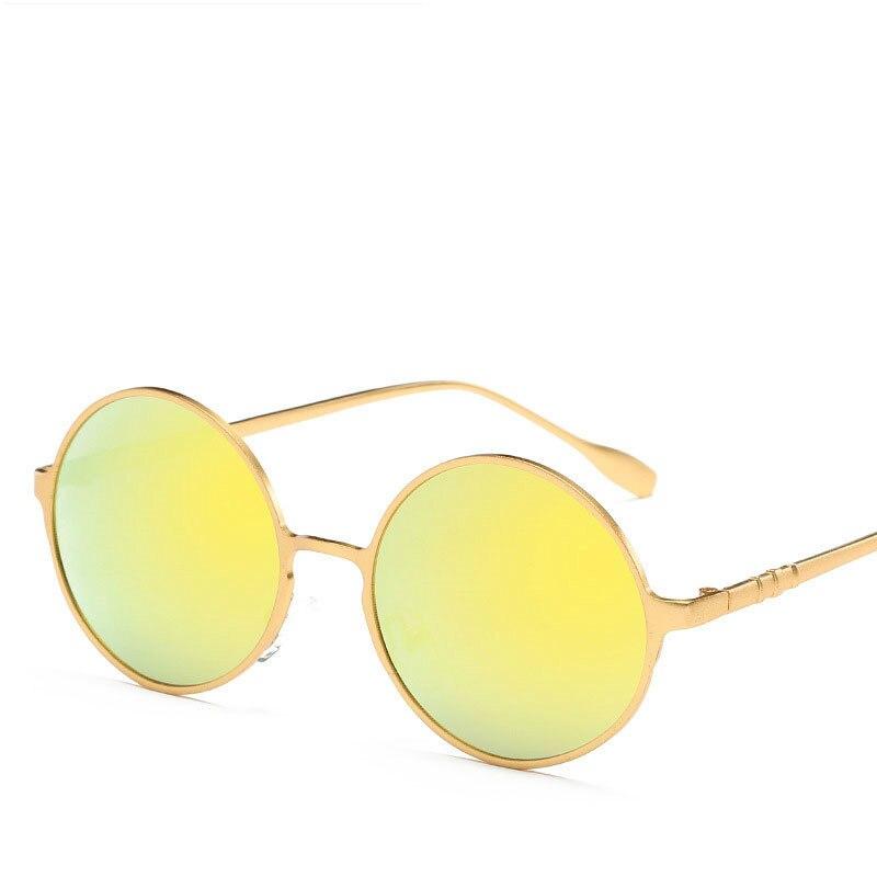 2018 Fashion Round Luxury Women Brand Retro Polarized Sunglasses Men Vintage Male Sun Glasses Female Shadow