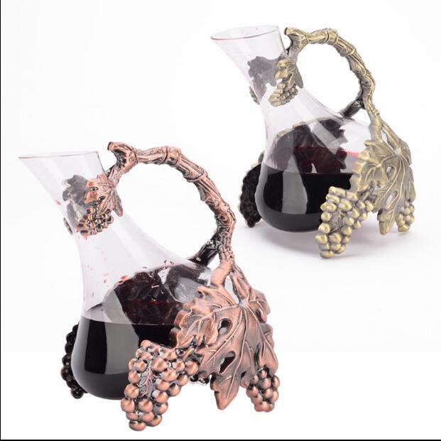 alloy metal glass Red wine wakeer wine accessories cocktail shaker juice beverage drinks decanter drink sware wine pourer JJ052