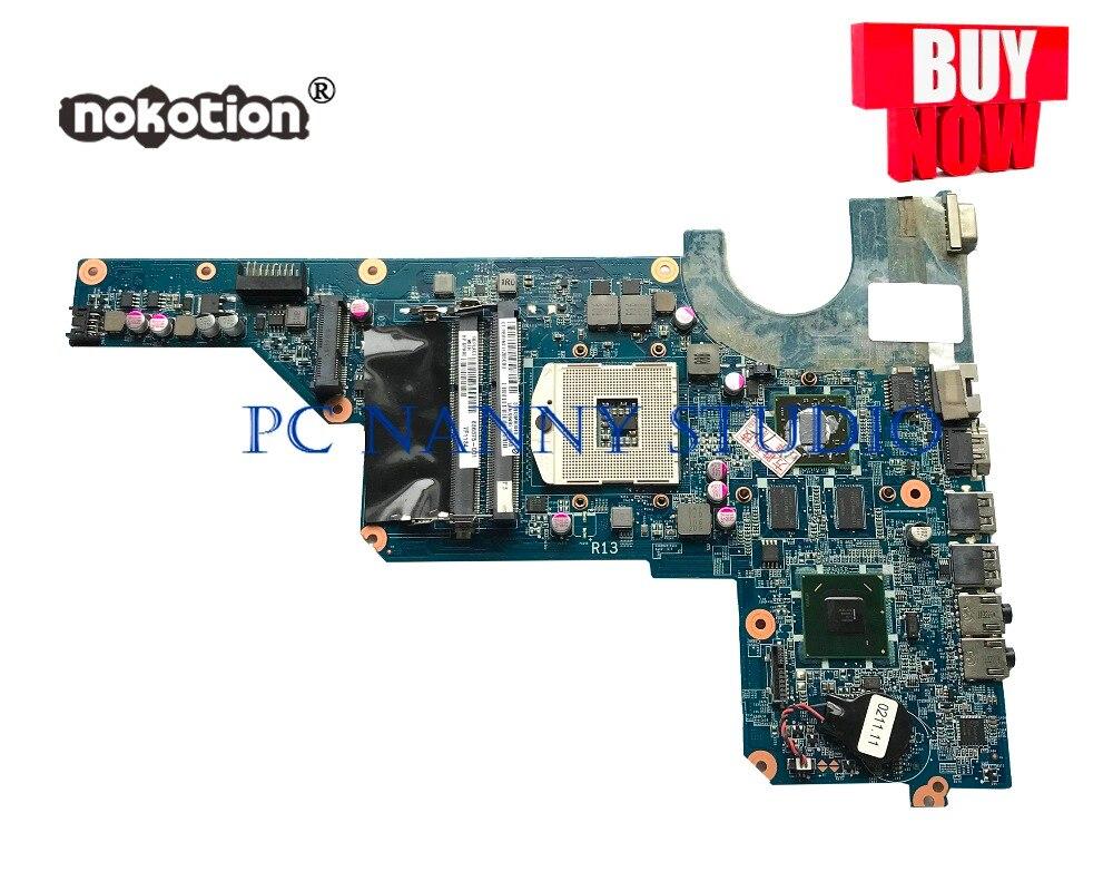 PANANNY 636375-001 ل HP G4 G6 G7 سلسلة اللوحة DA0R13MB6E0 HD 6470/1G HM65 DDR3 اختبار
