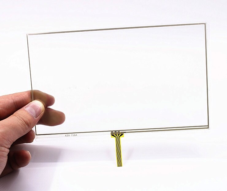2 pcs new 7 inch navigation touch screen E road X10 palm T10 touch handwritten screen 161*97